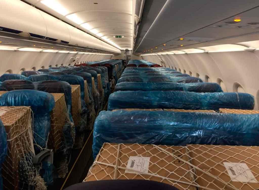 Interior avión