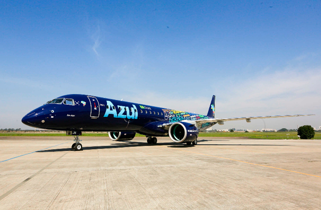 E175, Azul, Embraer