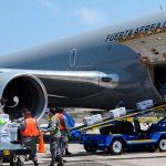 La Fuerza Aérea de Colombia combate la propagación del covid-19