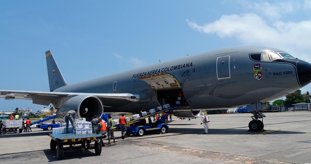 B767 Jupiter, Fuerza Aérea de Colombia