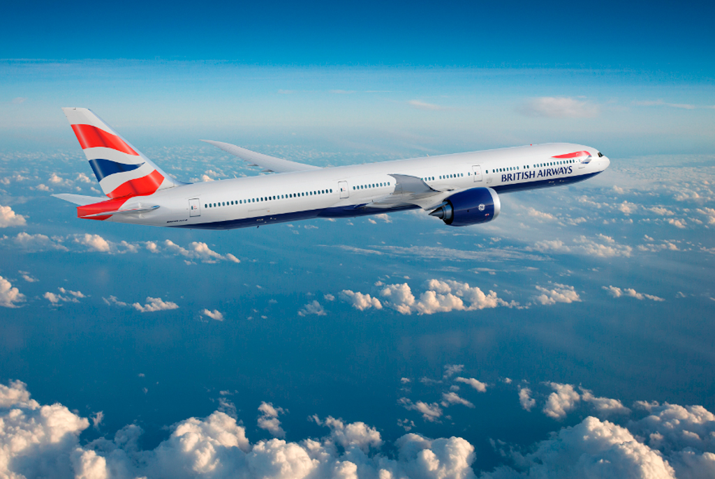 B777, British Airways