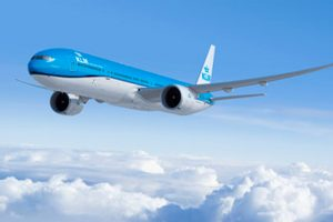 B777, KLM