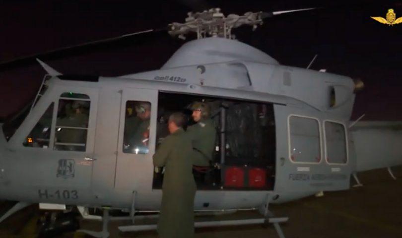 Bell 412Ep, Fuerza Aérea Argentina