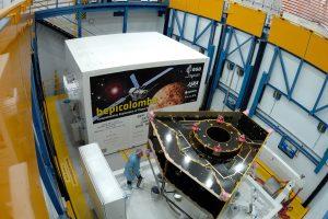 El lanzamiento de BepiColombo, a mediados de octubre