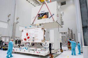 BepiColombo llega al Puerto Espacial Europeo