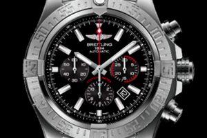 Breitling lanza edición limitada del cronógrafo Super Avenger 01