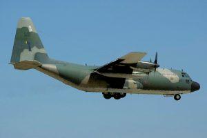 OGMA recibe el primero de los doce C-130 de la Fuerza Aérea Brasileña para mantenimiento