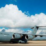 Entrega del último de los 276 C-17 producidos a la Fuerza Aérea de la India