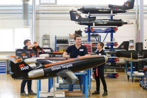 Airbus fabrica el drone target número 1500