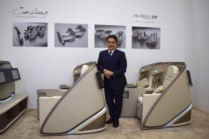 """Iacobucci HF Aerospacepresenta """"Cambiano"""", su nuevo asiento en colaboración con Pininfarina"""