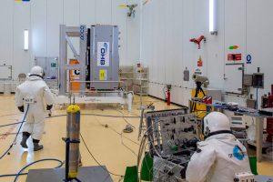 Carga de combustible para los próximos cuatro satélites Galileo