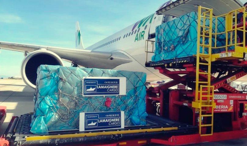 carga aérea, Lamaignere
