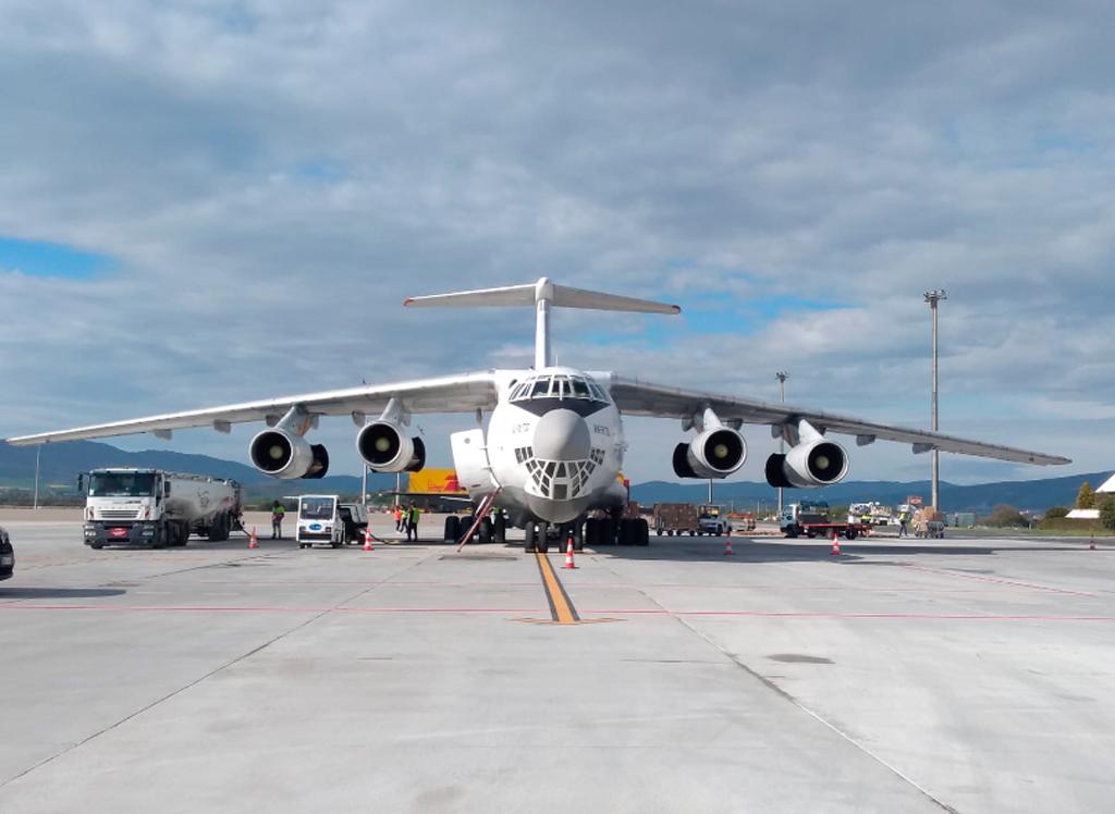 Aeropuerto de Vitoria, vuelo de carga, AENA,