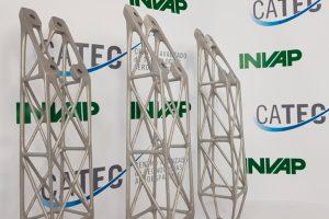 CATEC colabora con INVAP en el desarrollo de componentes por impresión 3D para sus misiones satelitales
