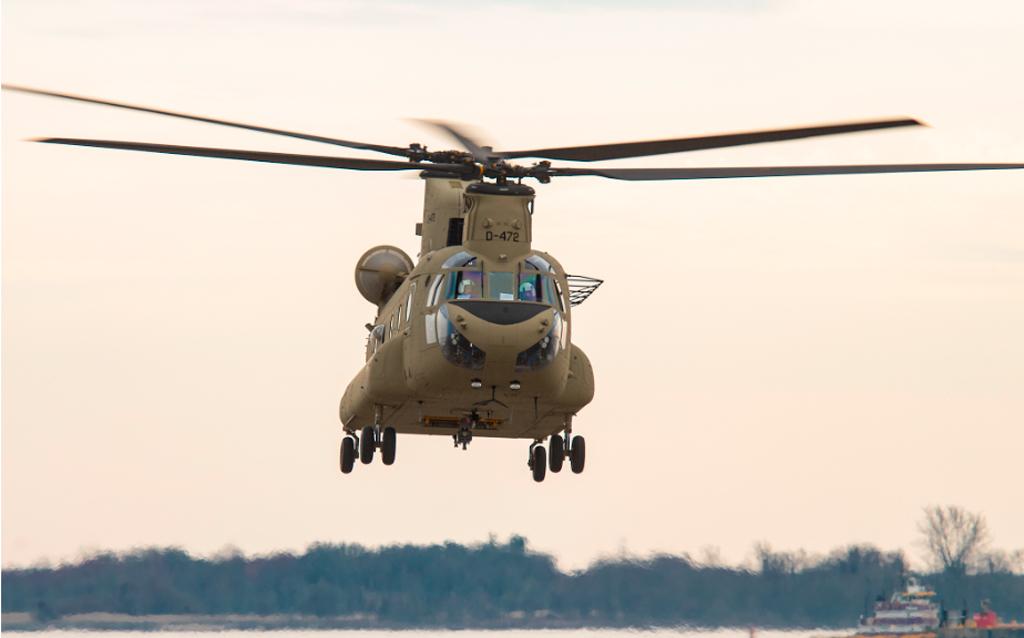 CH-47F, Boeing, Chinhook