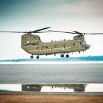Boeing entrega el primer CH-47F Chinook a la Real Fuerza Aérea de los Países Bajos