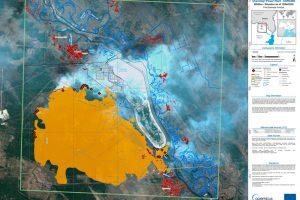 incendios Chernobyl,Copernicus, Sentinel, ESA,