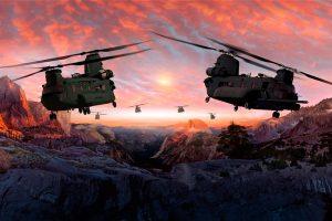 El US Army concede un contrato de 160 millones de dólares para prolongar el soporte para palas de rotor del Chinook