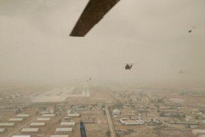 La Unidad española de Helicópteros llega a Irak