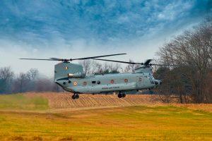 La Fuerza Aérea India recibe 4 helicópteros Chinook