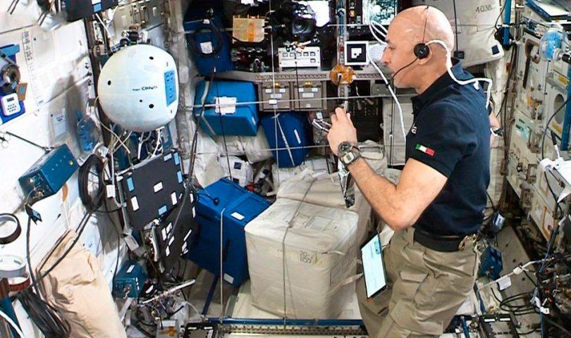 cimon, Luca Parmitano, ISS