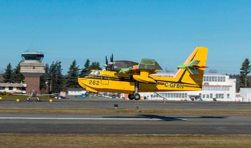 CL-415EAF, Viking, Apagafuegos, avión, extinción de incendios