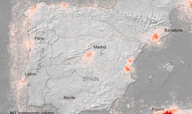 contaminacion, Españ, covid 19