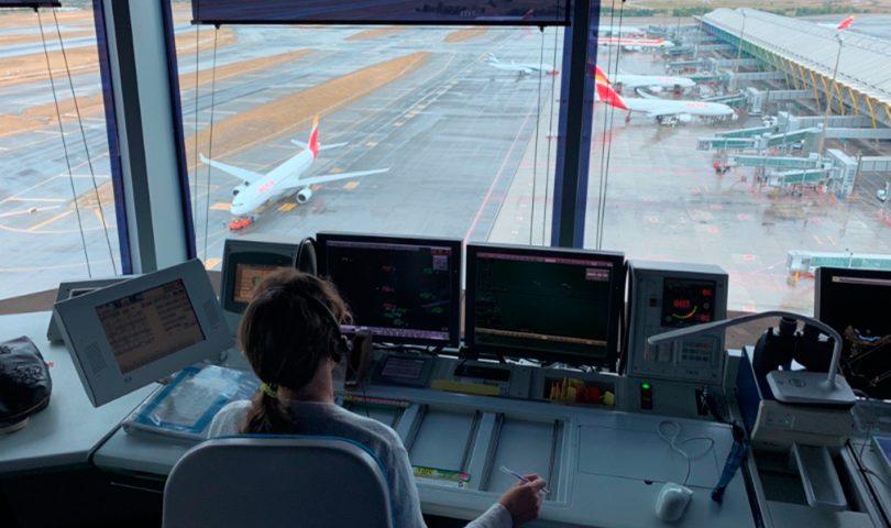 controladora, enaire, aeropuerto,