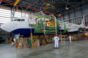 Conversión, IAI, pasajeros a carga, B737