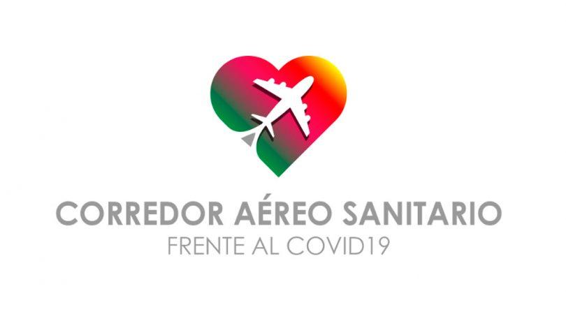 Correor Aero Sanitario, covid19, Iberia, Oesía