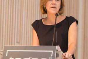Cospedal destaca el papel de la industria en la Clausura de la Asamblea General de TEDAE