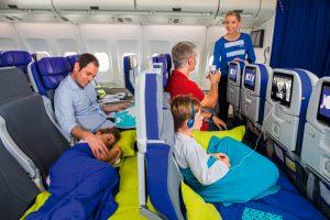 Joon incorpora asientos modulables para niños en sus A340