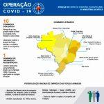 La Fuerza Aérea de Brasil participa en la lucha contra el covid-19