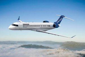 Bombardier lanza un nuevo avión con capacidad para 50 pasajeros