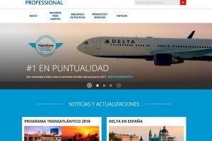 Delta lanza la web Delta Professional para España