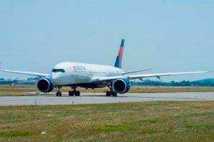 Airbus entrega el primer A350 XWB de Delta Air Lines