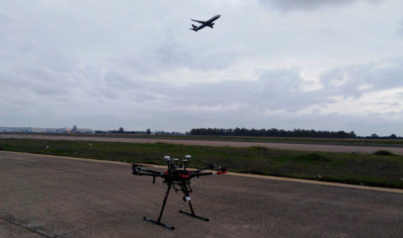 AENA, dron, Aeropuerto, Sevilla
