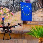 Concluyen las pruebas para la estandarización de drones con los sistemas GNSS europeos