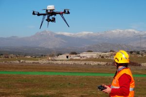 DroneXservices recibe autorización de la AESA para volar en espacio aéreo controlado