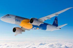 El E190-E2 de Embraer es certificado por la ANAC, la FAA y EASA