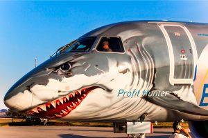 """El  E190-E2 """"Shark"""" completa su gira por África"""