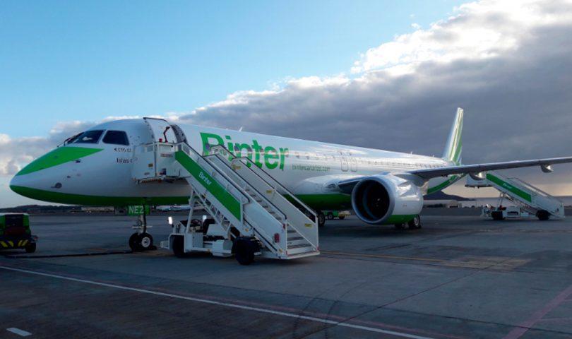 E195-E2 de Binter en Gran Canaria
