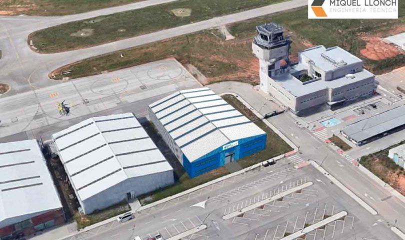 hangar, EAS Barcelona, Sabadell