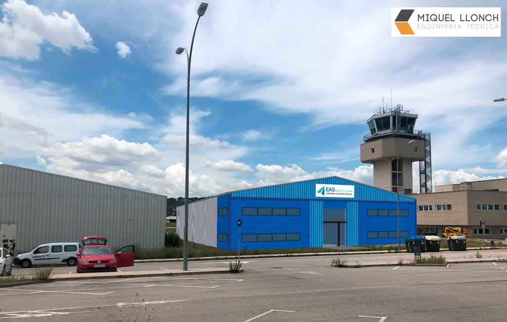 EAS Barcelona, hangar, Sabadell