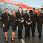 easyJet bate el récord de mujeres piloto volando el mismo día para celebrar el Día Internacional de la Mujer