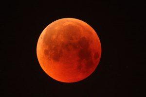 Eclipse lunar del 27 de julio del 2018