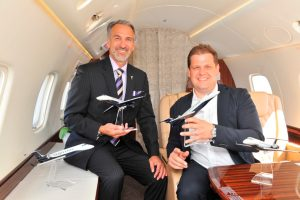 Air Hamburg adquiere 4 jets ejecutivos Legacy 650E adicionales