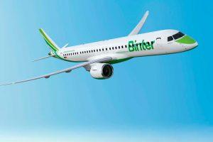 Binter invierte más de 342 millones en los nuevos E195-E2
