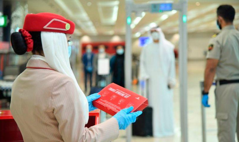 Emirats, kit, covid19