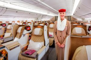 Emirates presenta sus B777 con nuevos asientos de Business Class